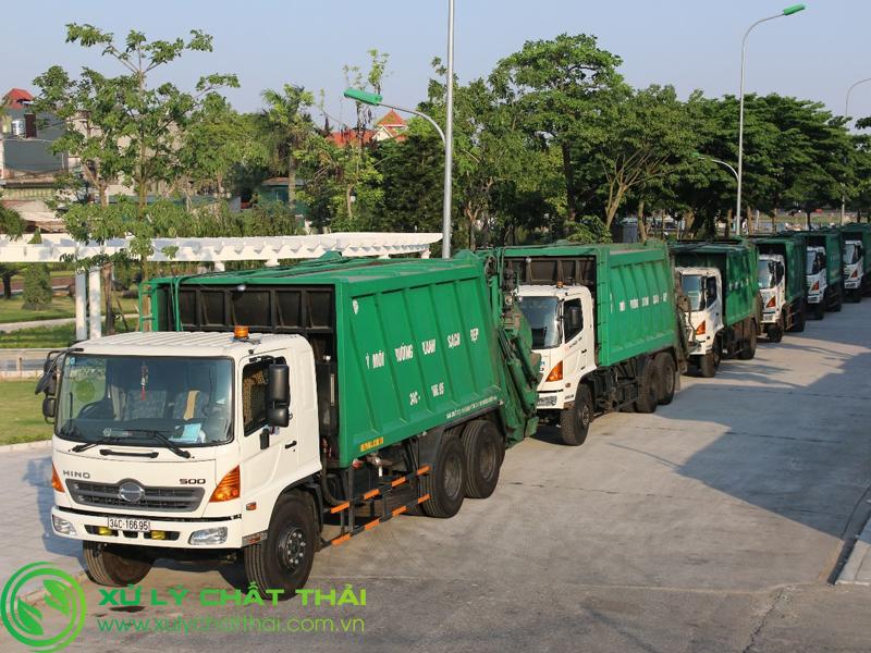 Thu gom, vận chuyển, xử lý chất thải công nghiệp không nguy hại