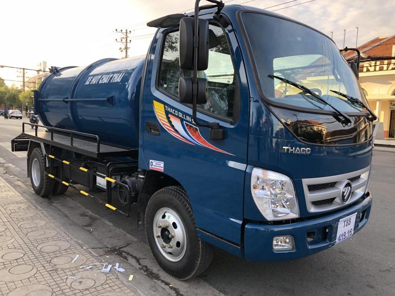 Xe hút hầm cầu tại Đà Nẵng