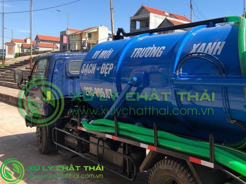 Hút hầm cầu Quảng Điền giá rẻ