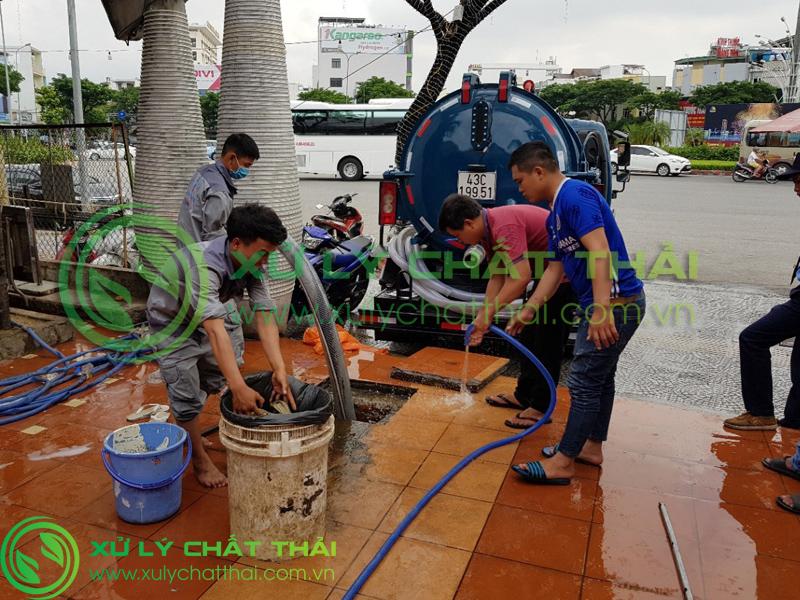 Nhu cầu thi công hút hầm cầu Hải Châu ngày càng tăng cao