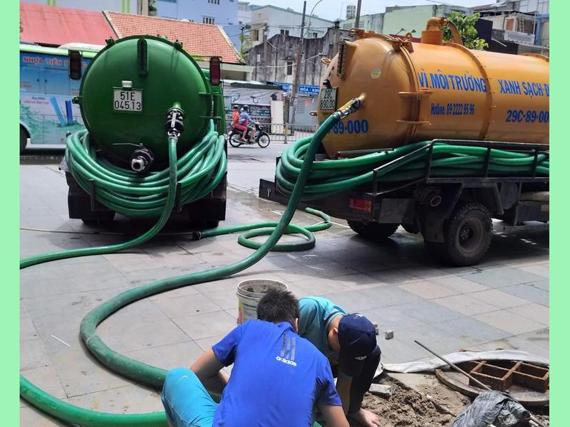 thi công thông cống nghẹt tại Đà Nẵng
