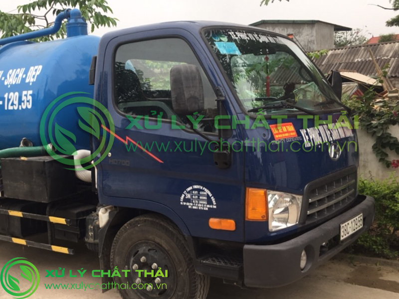Thi công dịch vụ hút hầm cầu tại Đà Nẵng
