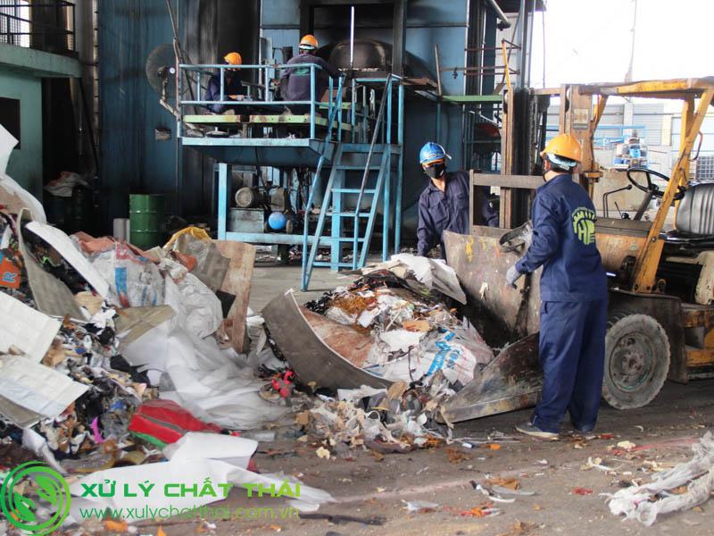 Xử lý chất thải Công nghiệp bằng phương pháp đốt