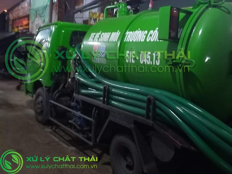 Hút hầm cầu Thọ Quang