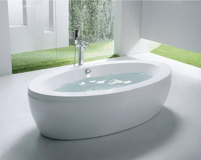 kích thước bồn tắm nằm phù hợp