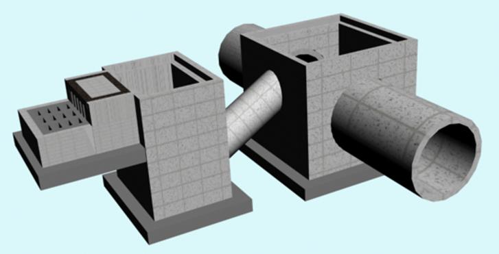 Mô hình hố ga