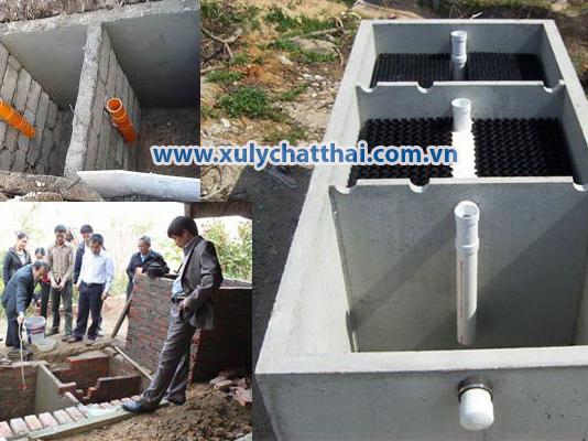 Ống thông các ngăn trong hầm cầu