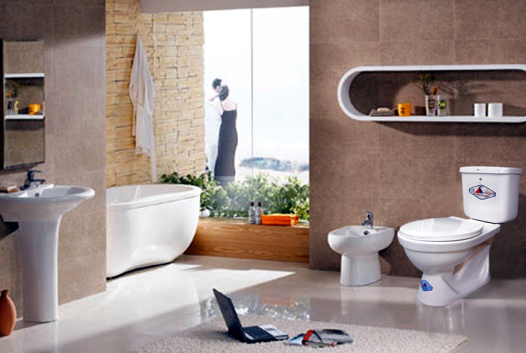 xây nhà vệ sinh tiện nghi