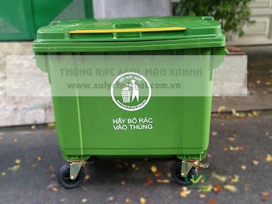 Thùng rác tại đà nẵng nhựa 660L