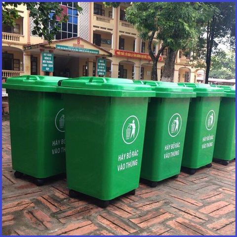 nhu cầu thùng rác tại hội an ngày càng tăng cao