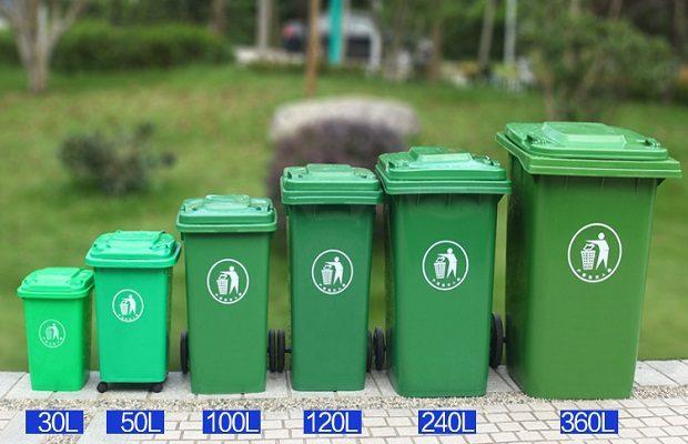 Thùng rác tại Hội An