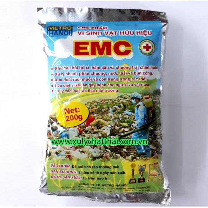 Sử dụng men vi sinh EMC để khử mùi hôi