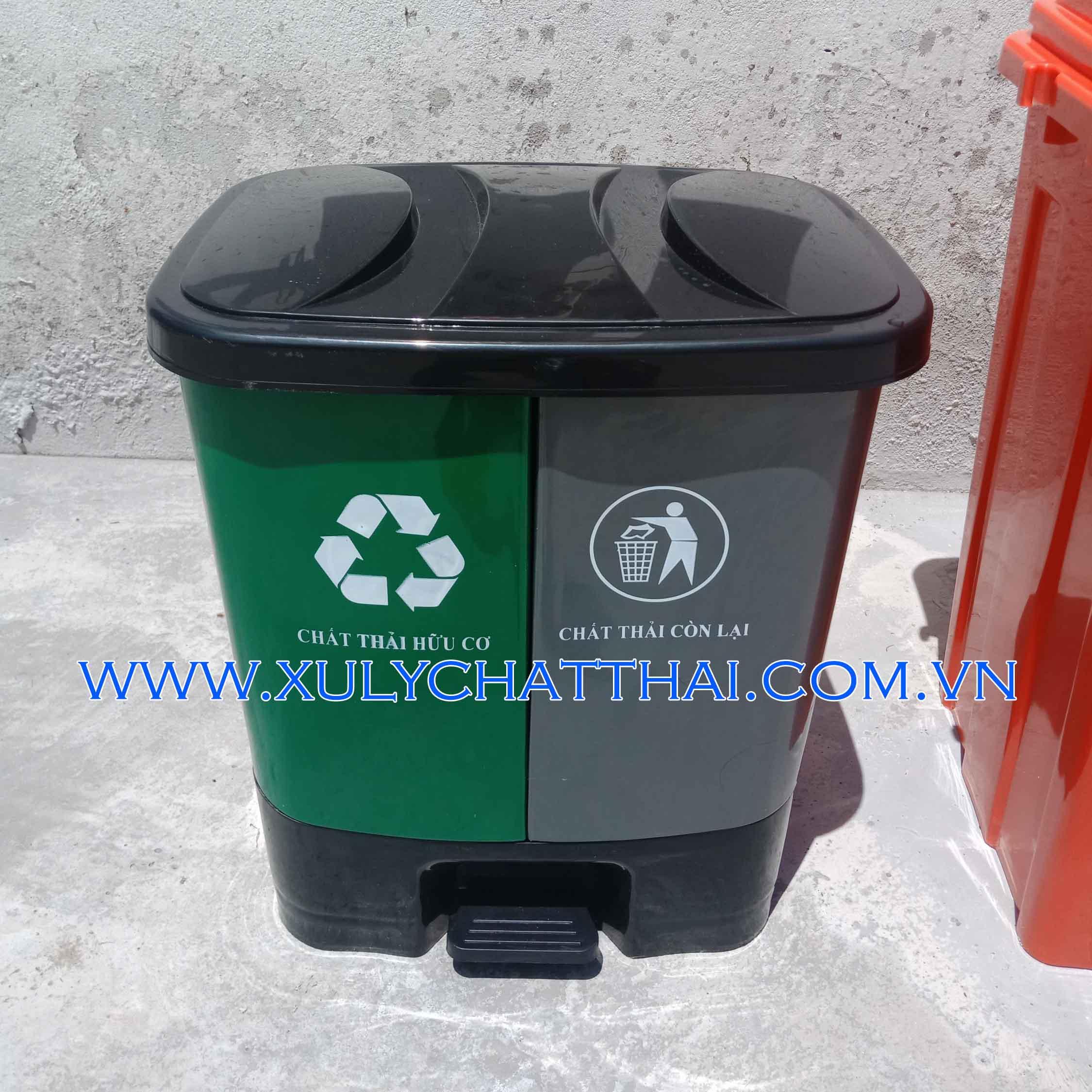 Thùng rác phân loại 20L/40L