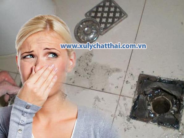 Tác hại nguy hiểm của mùi hôi hố ga