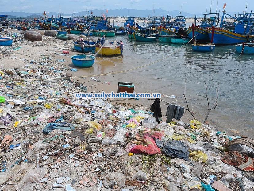 Môi trường biển Việt Nam đang ô nhiễm ở mức báo động