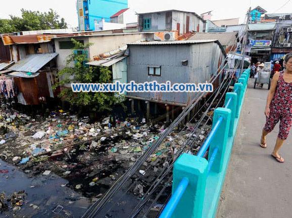 Nguyên nhân gây ô nhiễm môi trường nước