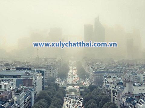 Bụi mịn pm2.5 ở Hà Nội và Tp HCM
