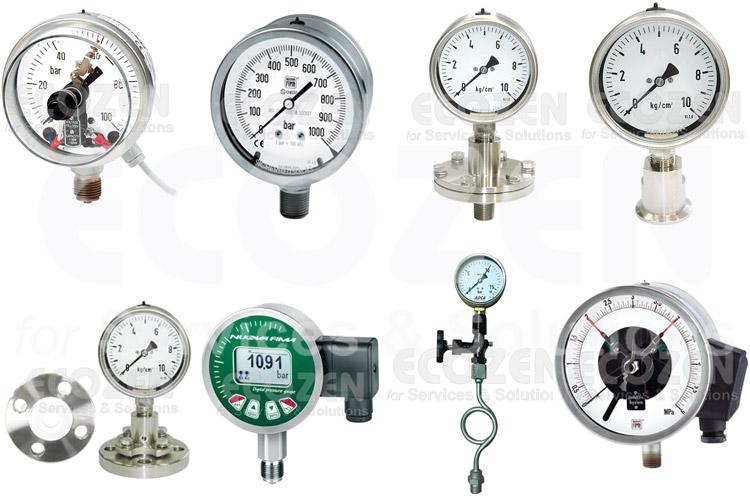 Các dạng đồng hồ đo áp suất