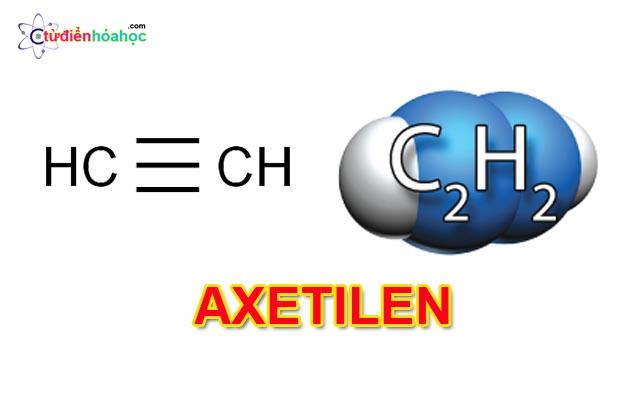 Công thức cấu tạo Axetilen