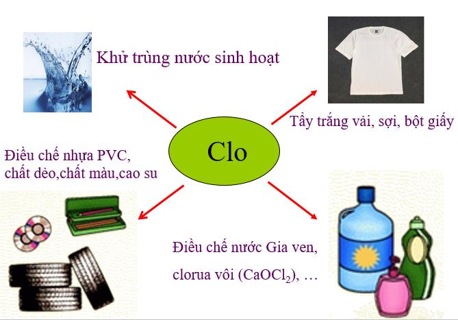 Ứng dụng Clo trong thực tế