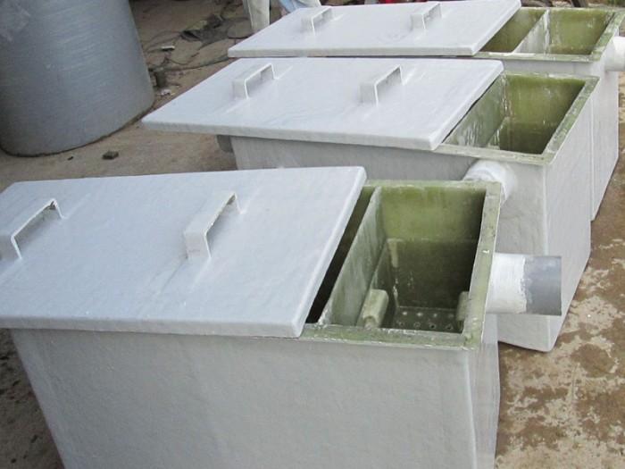 Sản xuất bể tách mỡ tại Huế bằng composite hoặc inox