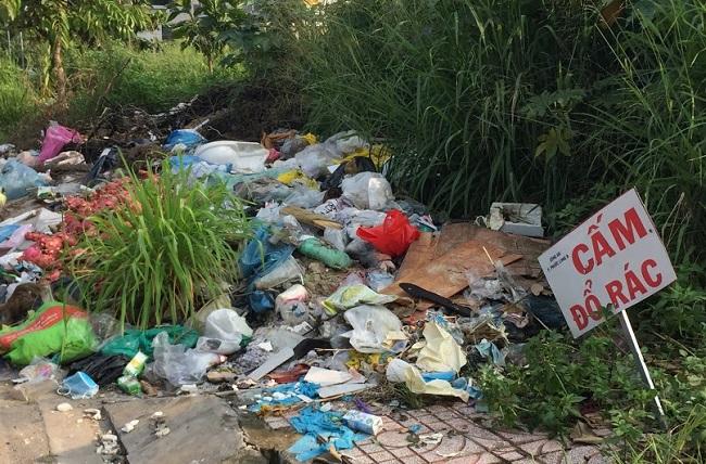 Thực trạng của xà rác bừa bãi