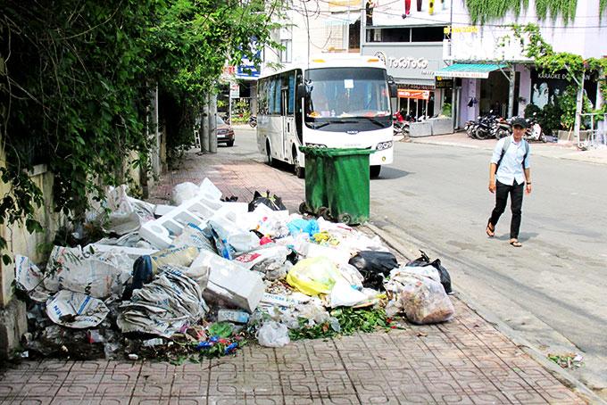 Tác hại của xả rác bừa bãi