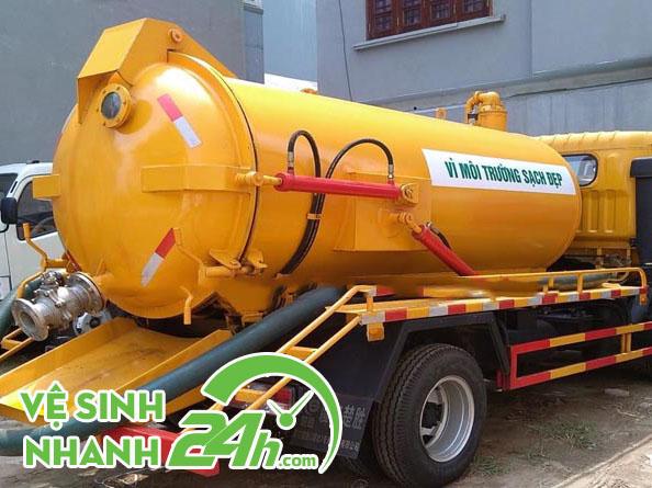 Hút bể phốt Nam Định