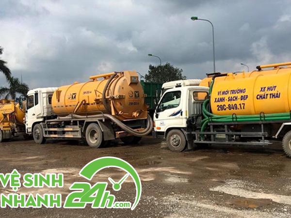 Hút bể phốt tại Ninh Bình