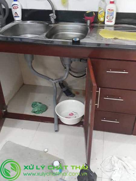 Thông tắc bồn rửa chén Sơn Trà