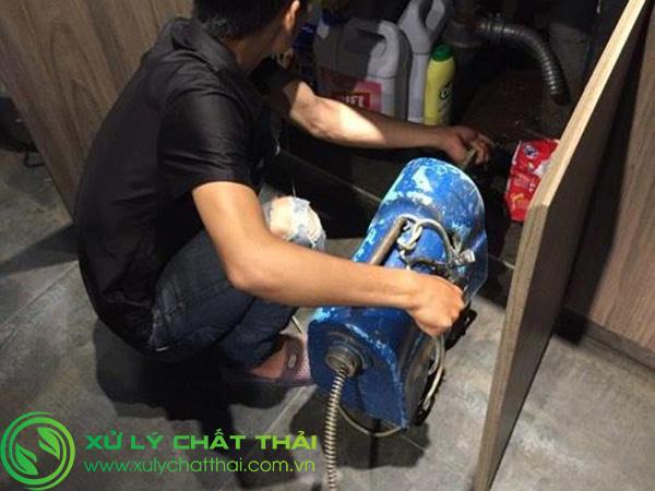 Thông tắc bồn rửa chén Liên Chiểu