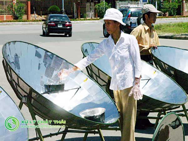 Bếp năng lượng mặt trời ngày càng phổ biến