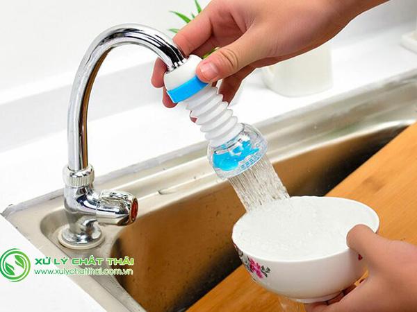 Thiết bị tiết kiệm nước ngày càng phổ biến