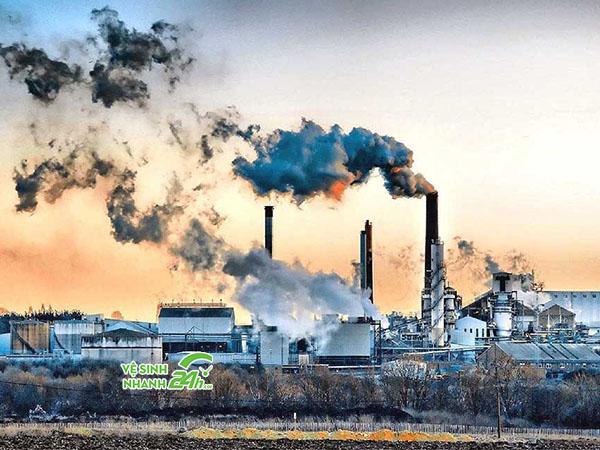 Không khí xung quanh ngày càng ô nhiễm
