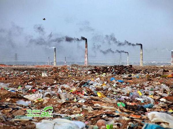 Tính trạng báo động cao trước ô nhiễm môi trường
