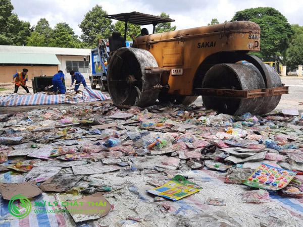 Tiêu hủy hàng hóa tại Đà Nẵng