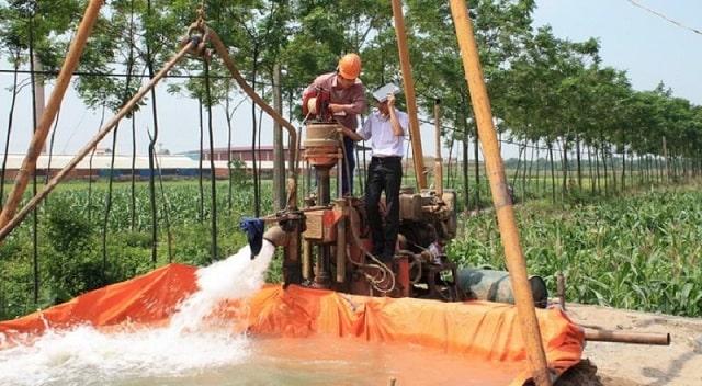 Hiện trạng khai thác nước ngầm đang ở mức báo động