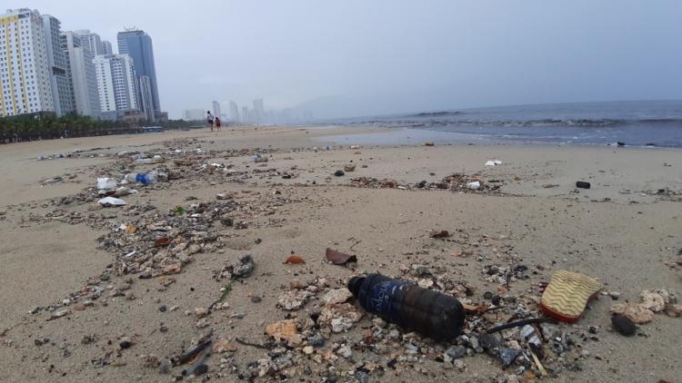 Ô nhiễm biển tại Đà Nẵng đang ở mức báo động